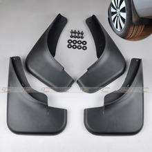 Mud Flaps Splash Guard Mudguard Mudflaps Fenders Perfector 4 PCS Fit For 1999 2000 2001 2002 2003 2004 VW JETTA BORA Golf Black(China (Mainland))