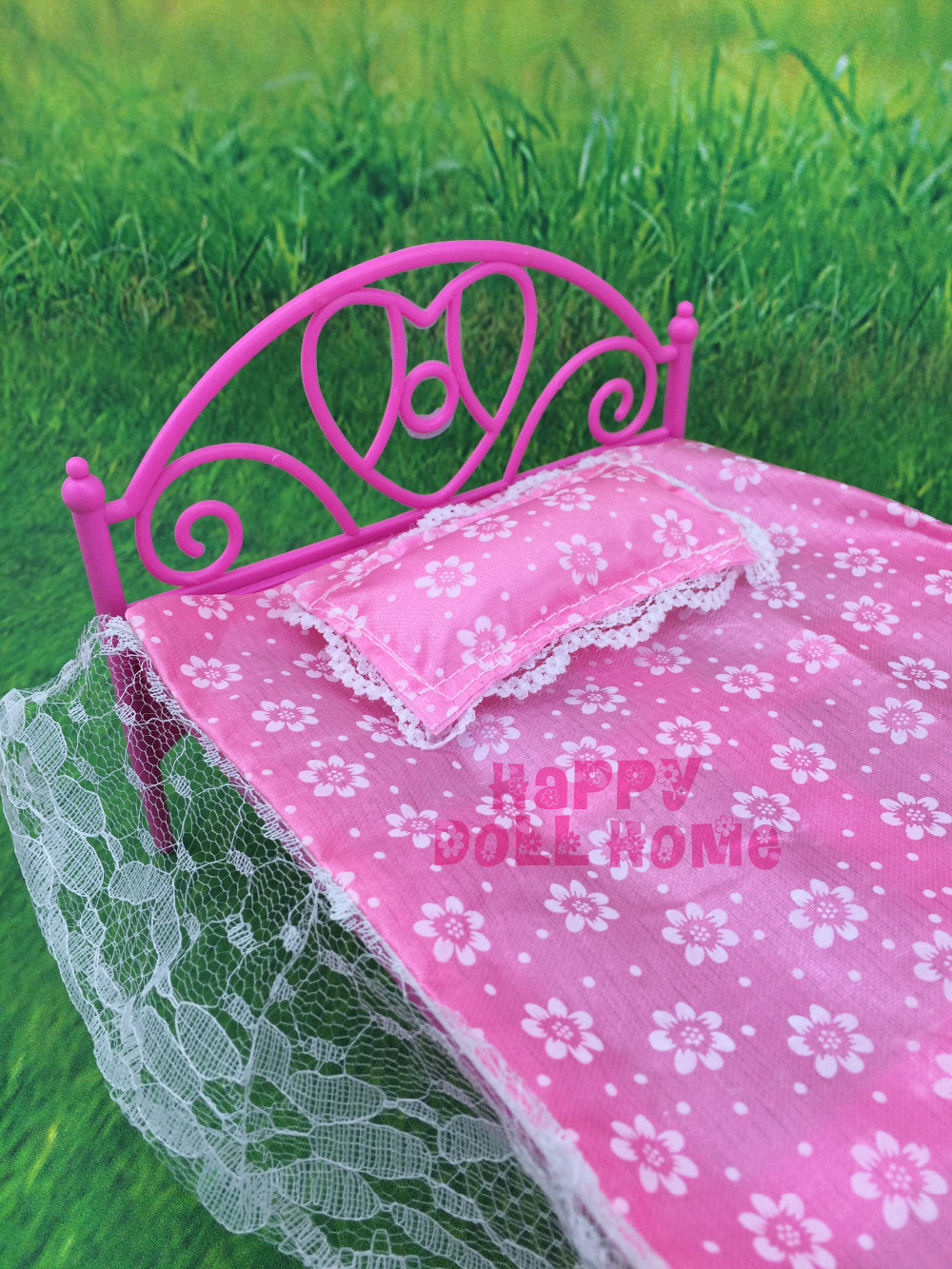 Free Transport Mini  Doll Mattress Furnishings three gadgets(doll mattress+pillow+bedsheet)   For Barbie Doll  Home Child Toys Scorching Promoting