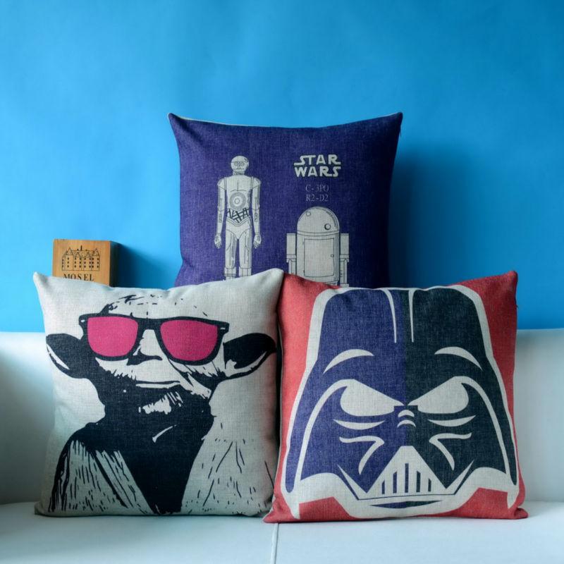Star Wars Decorative Pillowcase Home Decor Throw Pillow