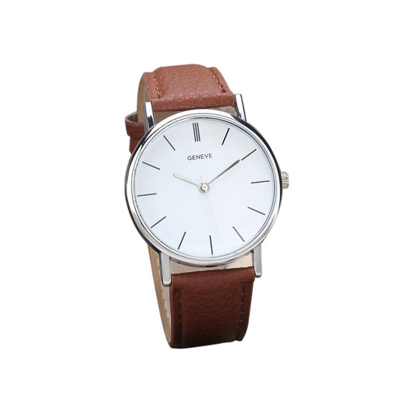 Гаджет  2015 New Womens Retro Design Leather Band Analog Alloy Quartz Wrist Watch Ladies Watch Women Perfect Gift None Часы