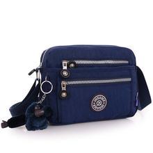 Min Fashion Women Waterproof Nylon Shoulder Diagonal Bag Messenger Mar29 AP