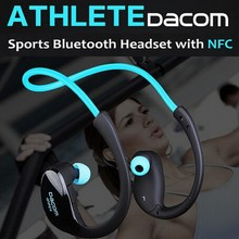 Original Dacom Athlete Bluetooth 4.1 headset Wireless headphone sports stereo earphone with microphone & NFC Free Shipping