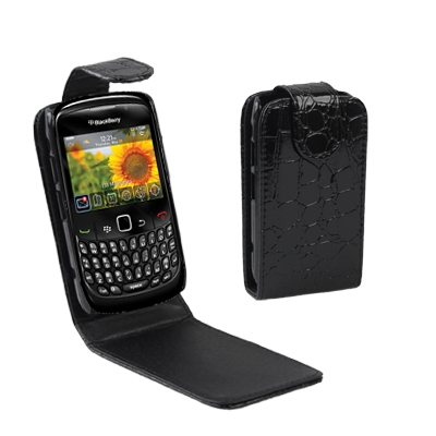Newest High Quality Protector Cover Leather Case Phone Case Shell for BlackBerry 8520(China (Mainland))
