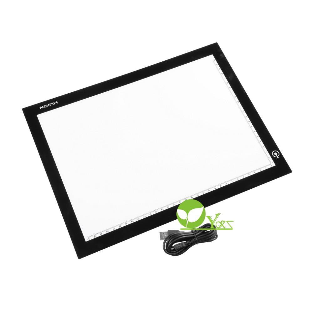 Huion A4 Ultra Thin LED Animation Drawing Stencil Board Table Pad Light Box(China (Mainland))