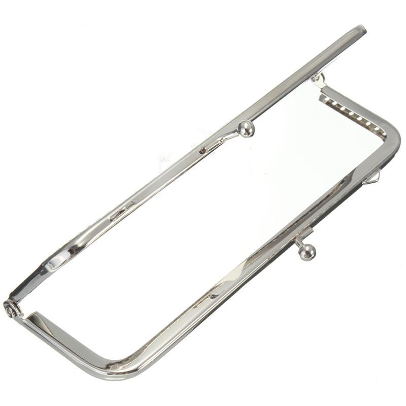 Wholesale New Cute Metal Silver Sewing Handbag Handle Clut
