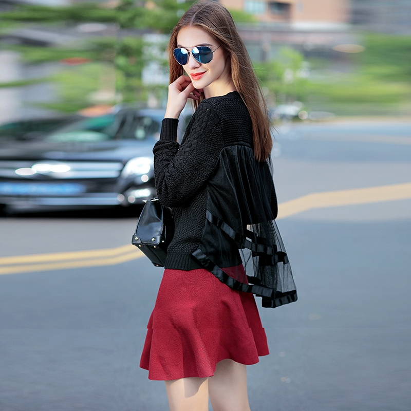 FREE SHIPPING sweater pure all-match fashion body sweater back gauze IN STOCK(China (Mainland))