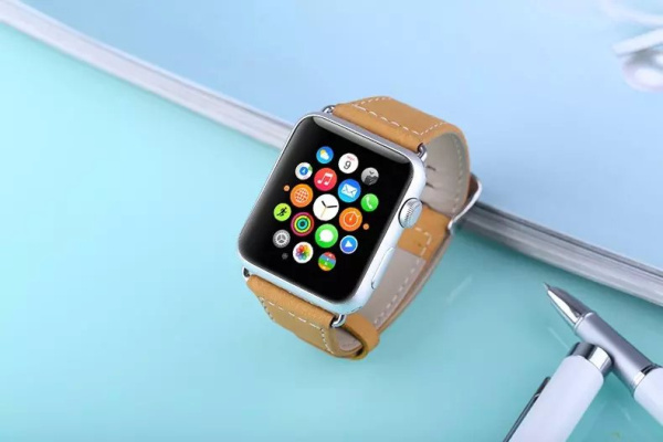 Luxury genuine leather watchband for Apple watch 38mm Slim Classical buckle handmade strap for Apple iwatch 42mm(China (Mainland))