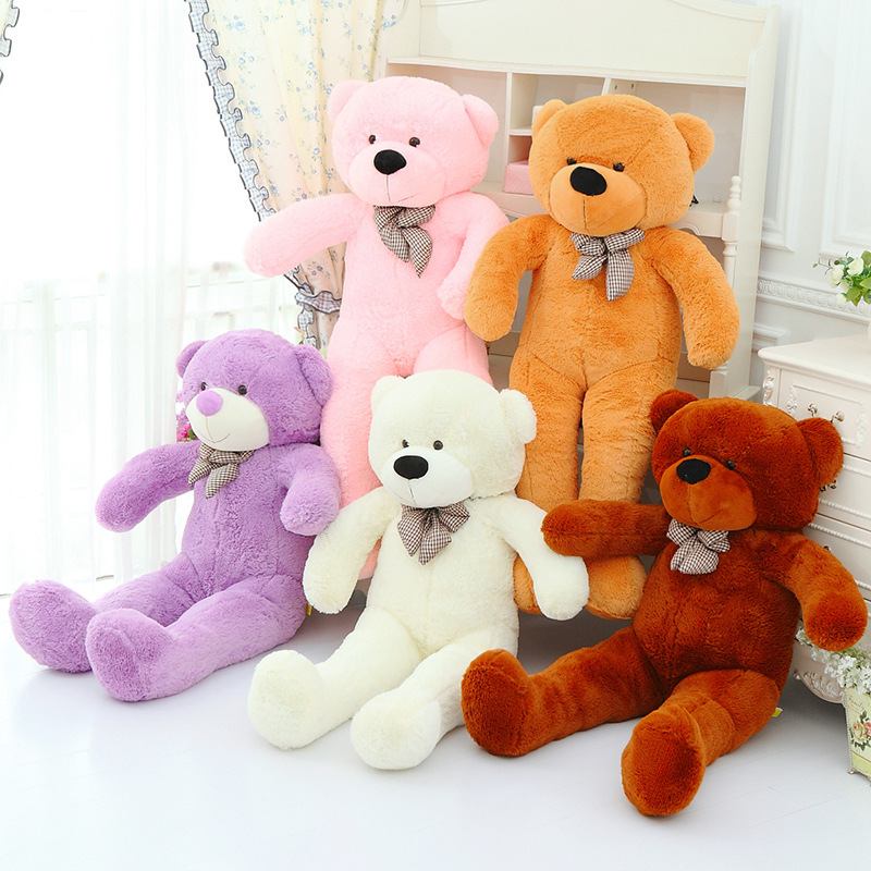 [140cm 5 Colors] Giant Large Size Teddy Bear Plush Toys Stuffed Toy Lowest Price Birthday gifts Christmas CA007(China (Mainland))