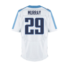 Mens #8 Marcus Mariota #29 Demarco Murray Light Blue White Elite jersey 100% Stitched Logos Free shipping(China (Mainland))