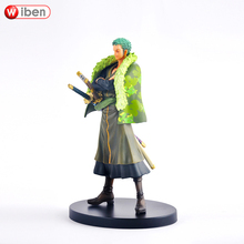 Anime One Piece Roronoa Zoro 17cm PVC Action Figure Collection Model Toy Gift