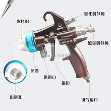 Fine Atomizing Spray Gun for Two Component Polyurethane Foaming/Dual Nozzle/Good Atomizing (SGH-S2-PE)(China (Mainland))