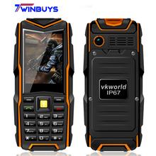 Original VKworld Stone V3 IP67 Waterproof Shockproof Dustproof Mobile Phone Power Bank Long Standby Outdoor Army 5200mAh(Hong Kong)