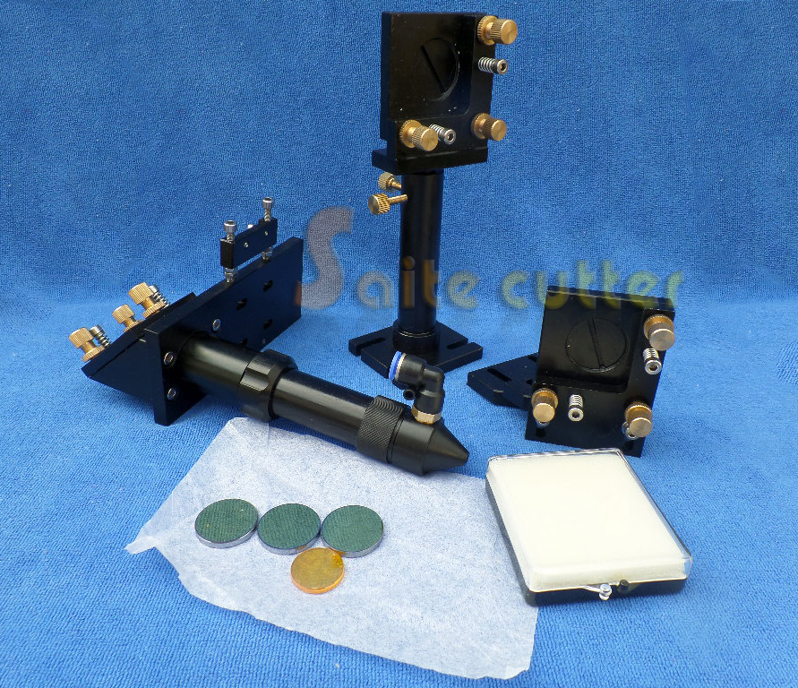 New Type CO2 Laser Head & Reflective Mirror 25mm & Focus Focal Lens 20mm Integrative Mounts Set for Laser Engraving and Cutting(China (Mainland))