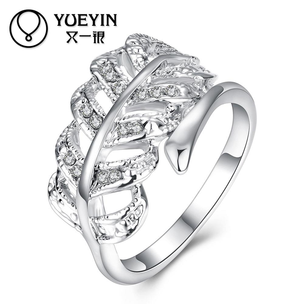 Rose gold color Engagement rings for lady gold-color rings Classic joias ouro jewellery Gift for Anniversary(China (Mainland))