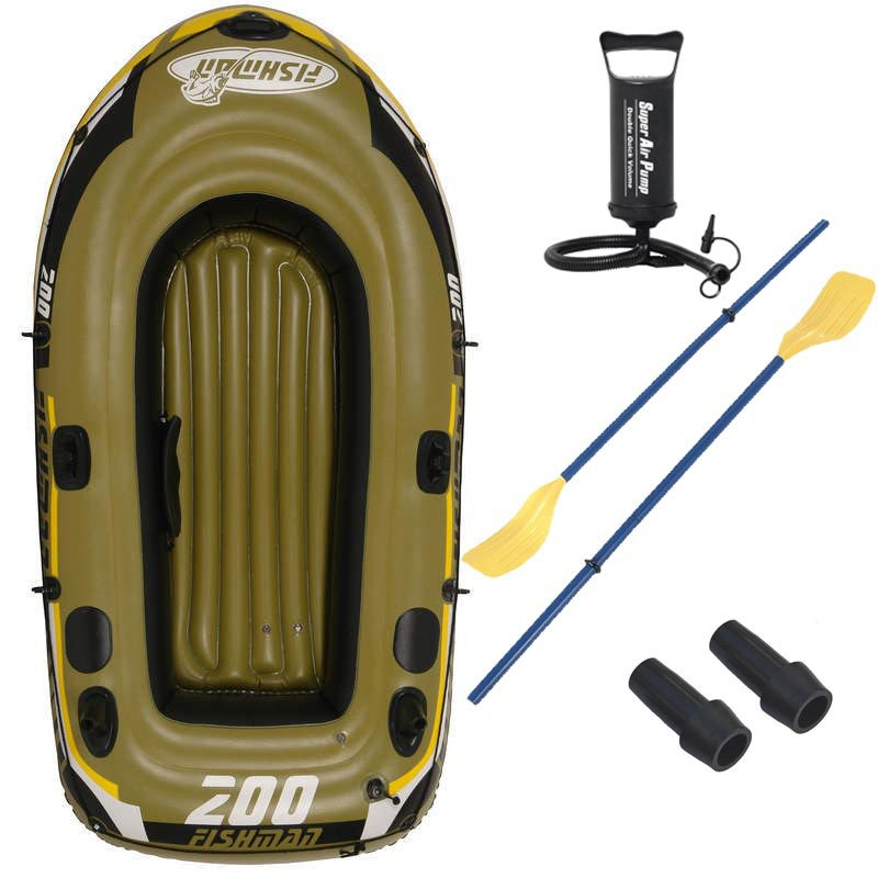 2 Person fishing boat 218*110*36cm inflatable boat,kayak,repair patch, color box package(China (Mainland))