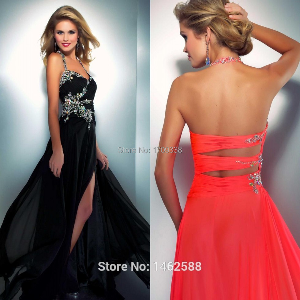 long beaded prom dresses Picture - More Detailed Picture about ...