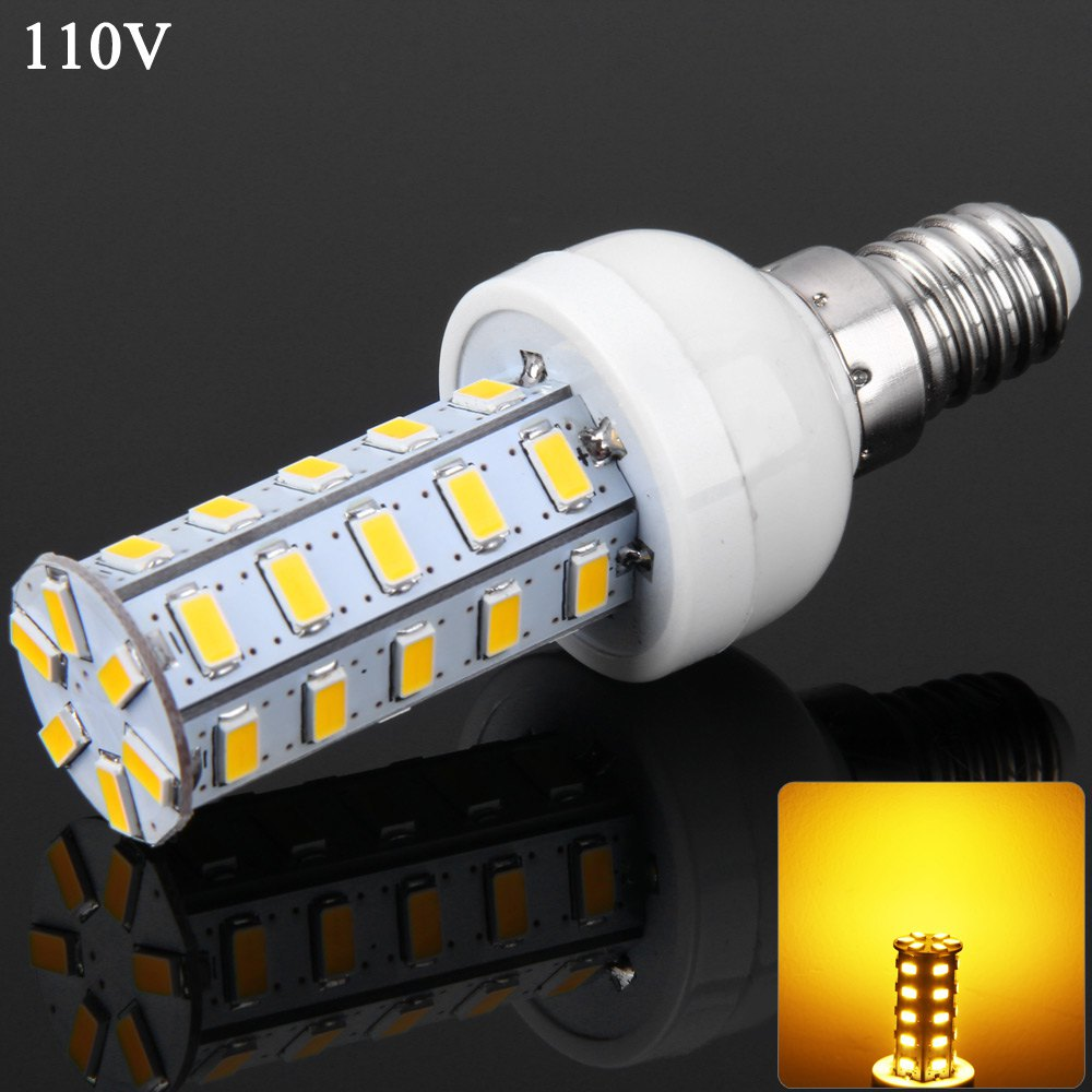 7W SMD-5730 36 LEDs Corn Bulb Night Bulb E14 1600Lm Warm / Cool White Dimmable Light  - 110V for Indoor Commercial 1119172<br><br>Aliexpress