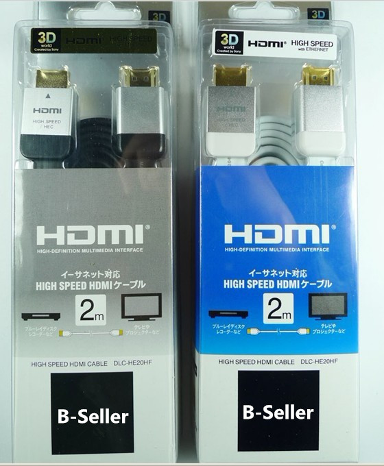 5pcs/lot 2M HDMI Cable FOR PS3 XBOX 360 3D HDTV High Speed White/Black HDMI plug For Sony HD1080p supported 1.4 Ver(China (Mainland))