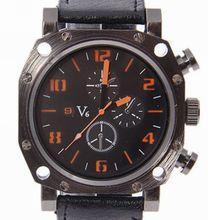 V6 cuarzo reloj para hombre macho reloj q002 moda casual