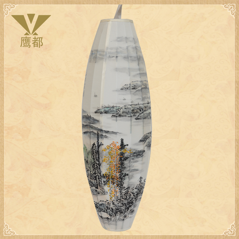 Chinese style lamp fabric floor lamp fabric lamp living room lights bedroom lamp(China (Mainland))
