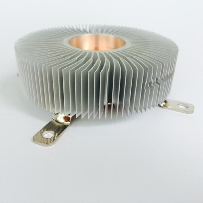 DIY LED Heatsink aluminium heat sink radiator for Led Light cooler cooling 90*90*28mm Computer heat sink Radiator YL-0048(China (Mainland))