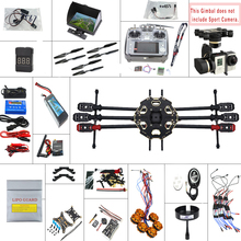 JMT 680PRO PX4 GPS 2.4G 10CH 5.8G Video FPV RC Hexacopter Unassembled Full Kit RTF DIY RC Drone Combo MINI3D Pro Gimbal F07807-F(China (Mainland))