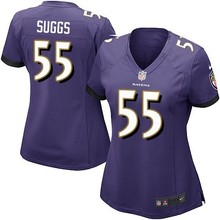 Top quality Joe Flacco Terrell Suggs C.J. Mosley Steve Smith Ray Lewis For women Raven(China (Mainland))
