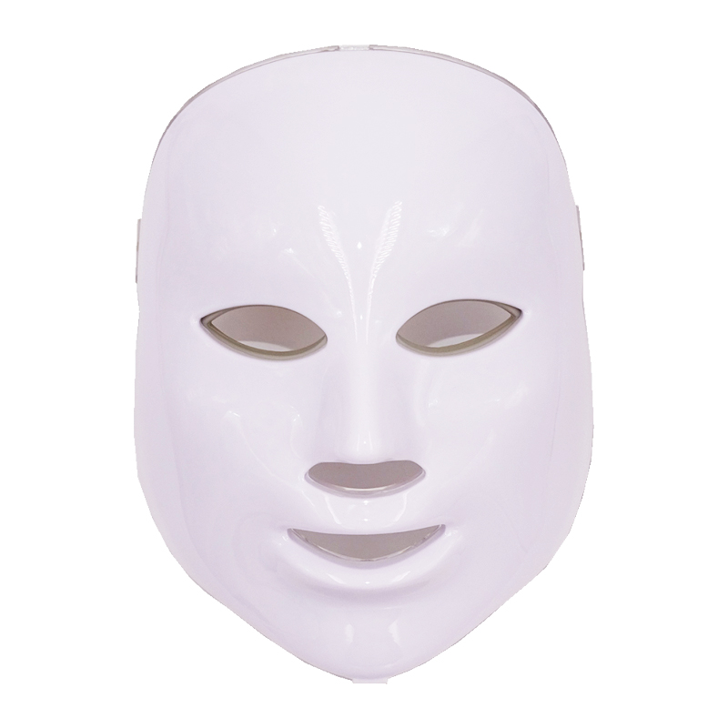 LED Facial Mask 3/7 Color LED Photon Facial Mask Wrinkle Acne Removal Beauty Spa Device Skin Rejuvenation White Facial Masker
