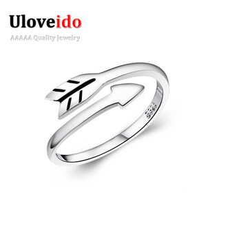 The Arrow Of Love Rings for Men Vintage Jewelry Bague Bijoux Anel Masculino for Wedding Engagement Valentine Present Ulove Y080M