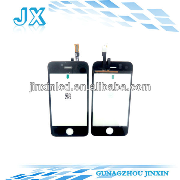 10pcs/lot Touch screen digitizer replacement for iphone 3G by dhl ups or ems free shipping(China (Mainland))