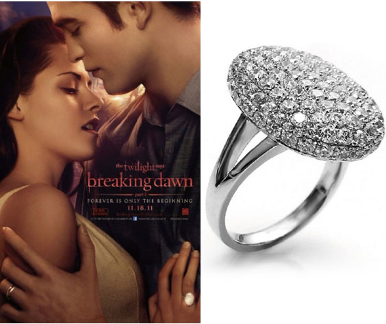 Rings For  Women from The twilight breaking dawn Bella wedding rings(China (Mainland))