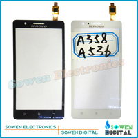 Original new touch screen digitizer touch panel touchscreen for Lenovo A536 A358,free shipping,Black or white