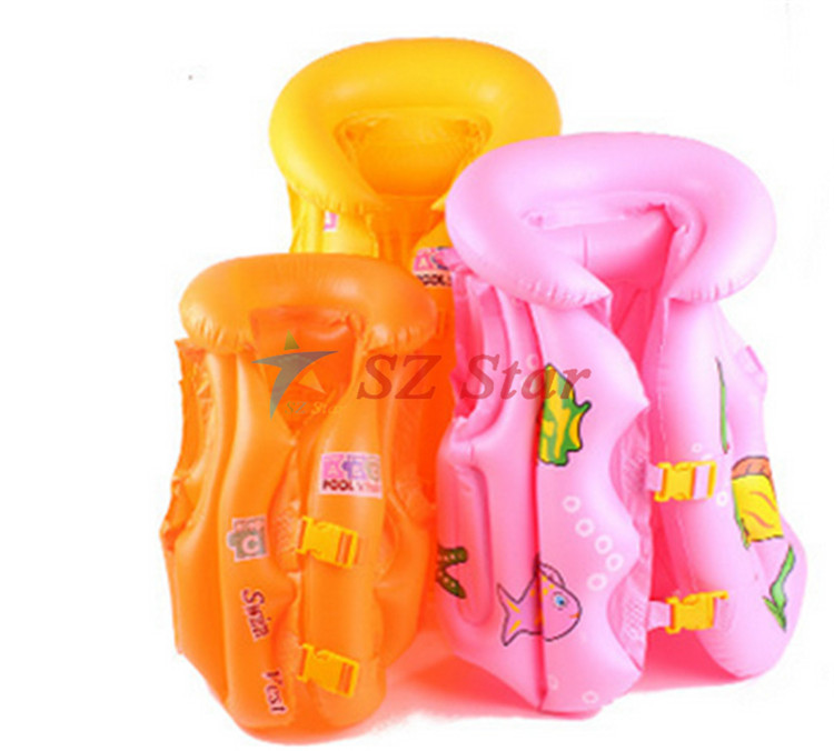 buoyancy vest for kids child swim jacket life safety vest and rescue baby saving children's swimming vest inflatable 3-5 year(China (Mainland))