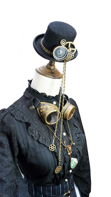 Steampunk Top Hat Cosplay