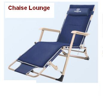 Office nap chaise lounge camp bed portable beach chair for Beach chaise lounge folding