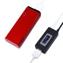 2016 Hot 3V 5V 12V To 15V LCD Voltmeter USB Charger Capacity Current Detector Voltage Tester Meter Power tester For Power Bank