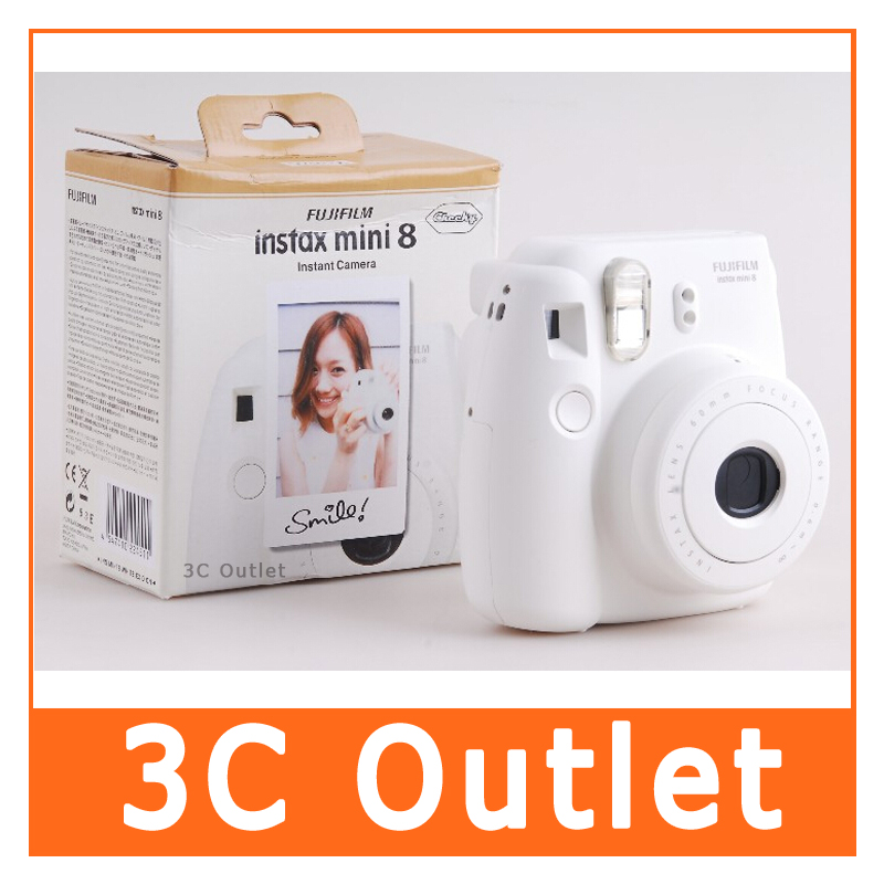 Fujifilm Instax Mini 8 Instant Film Camera (White)(China (Mainland))