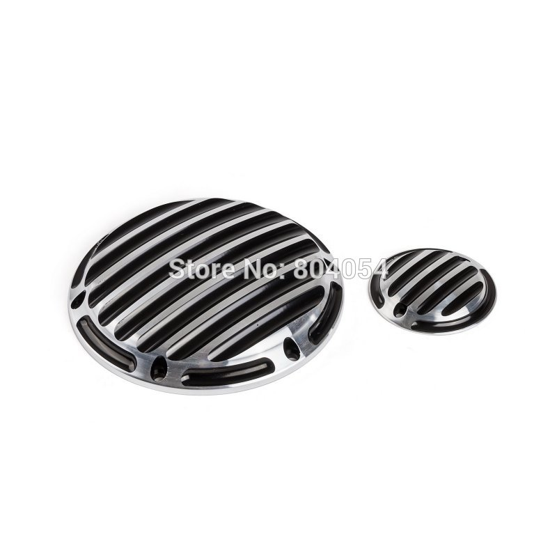 New Motorcycle Set Of CNC Derby Cover Timing Cover For Harley Sportster XL 883 1200 2004-2013 2014 2015<br><br>Aliexpress