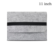 10,12,13,14,15,17 inch  Wool Felt  Inner Notebook Laptop Sleeve Bag Case Carrying Handle Bag For Macbook Air/Pro/Retina(China (Mainland))