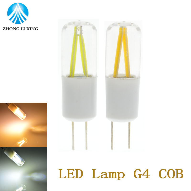 10xNEW G4 LED Lamp 3W AC/DC 12V Filament LED G4 Light Bulb Dimmable Lampada LED Chandelier Lights Replace Incandescent Lamp(China (Mainland))