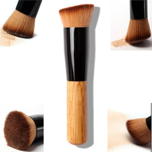 1pcs Foundation Makeup Brushes Tools High Quality Powder Brush Wooden Handle Mask Multi-Function Brush