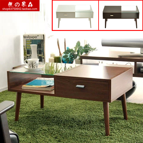 Stylish Minimalist Living Room Coffee Table Ikea Glass Dining Table Modern Small Apartment