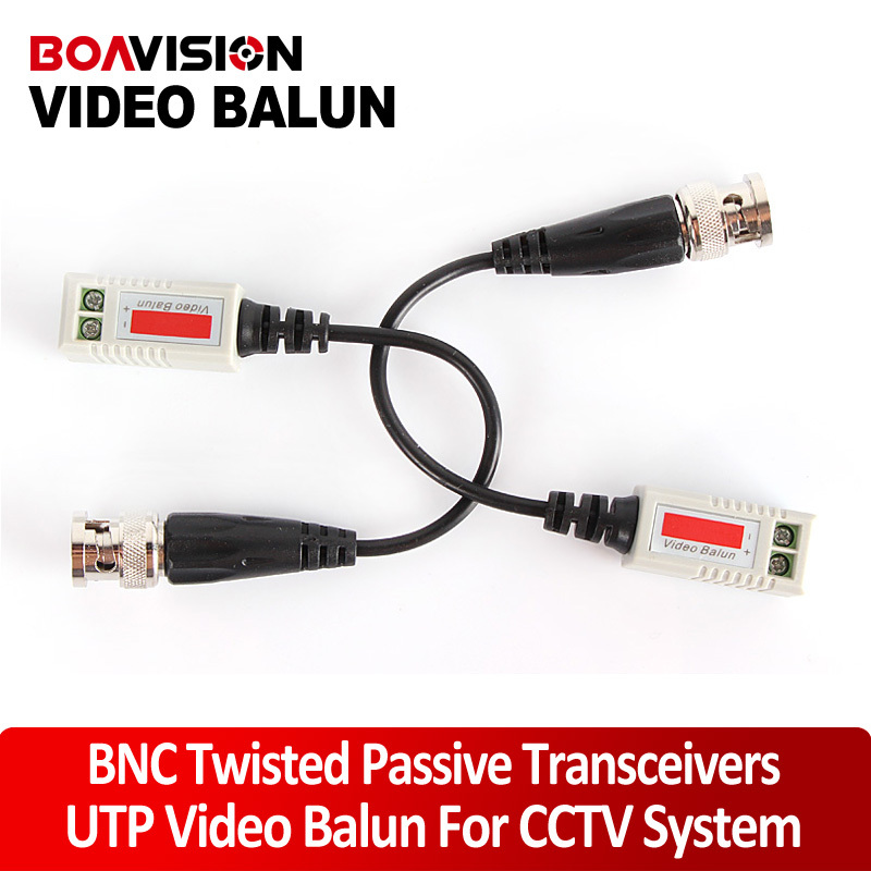 1 Channel Passive Video Balun CAT5 Transceiver /Video Transceiver /Twisted Pair Transmitter(China (Mainland))