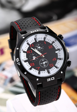 luxury brand men watches 2016 logo new Casual Quartz watch men military Watches sport Wristwatch Silicone