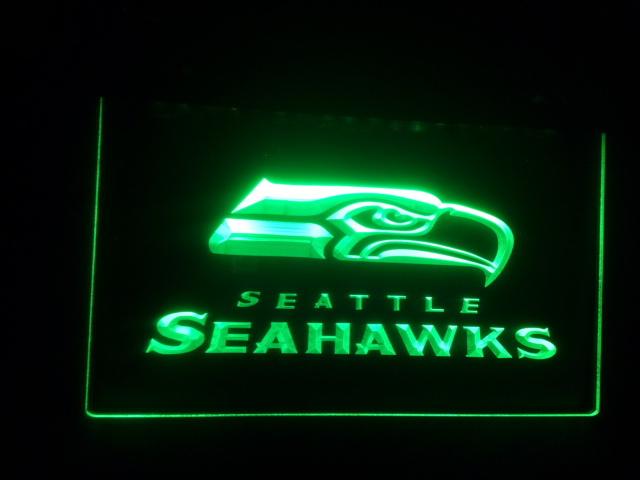 b-34 Seahawks Bar Pub Neon Light Signs(China (Mainland))