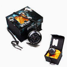 Wholesale/retail Harry Potter Hogwarts Magic DA Logo Pocket Watch New In Box Classic Cosplay performance for gift collection(China (Mainland))
