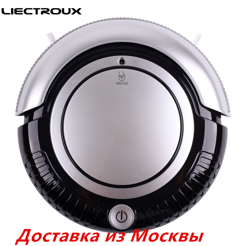 (Free all )2017 new Liectroux Robot Vacuum Cleaner K6L Flashing LED Light ,2 Side brushes With mop,3 Working Mode,Smart for home(China (Mainland))