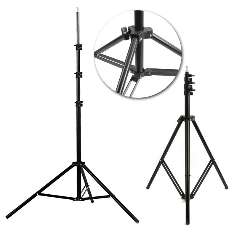 Гаджет  Photographic equipment Pro Photo Studio 6.6ft 200cm two-meter-tall 2m light stand with 1/4 screw head Free shipping None Бытовая электроника