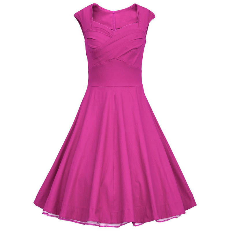 Retro Inspired Plus Size Party Dresses 114