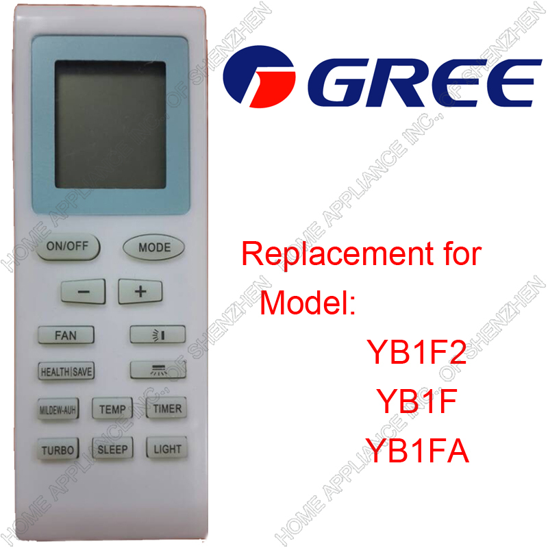 Гаджет  Free Shipping (4 pieces/lot) GREE\GE\TRANE\WESTINGHOUSE\MABE Split And Portable Air Conditioner Romte Control YB1F2 YB1F YB1FA None Бытовая техника